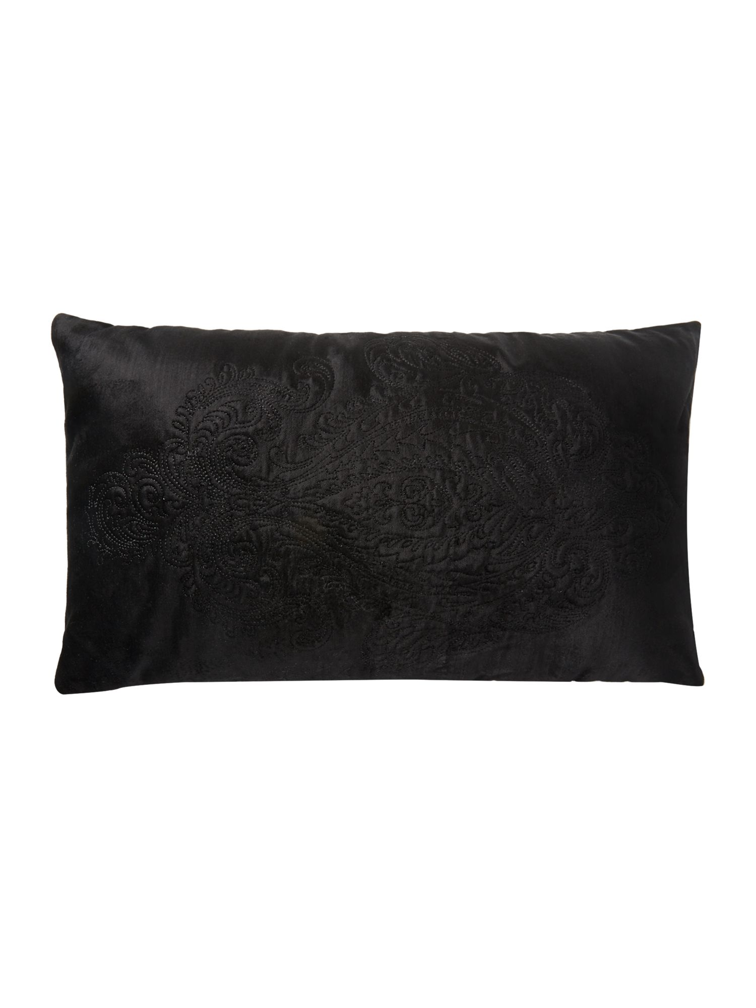 Zelda cushion in black