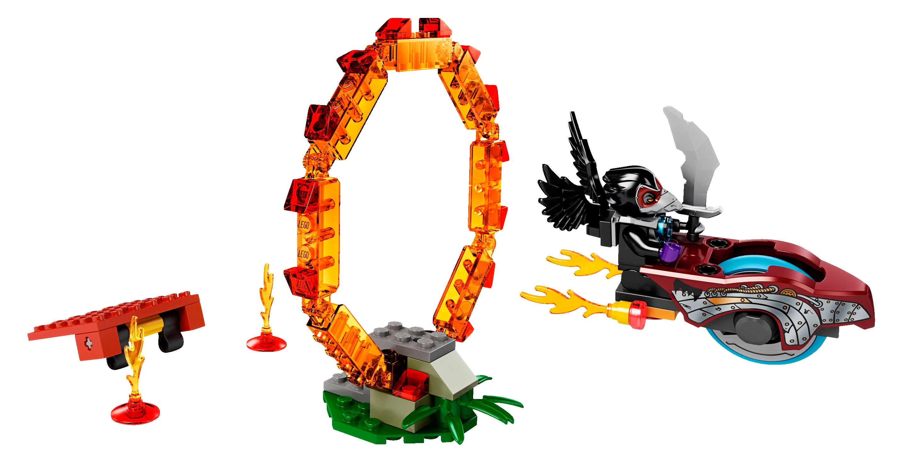 Lego Rings of Fire (70100)