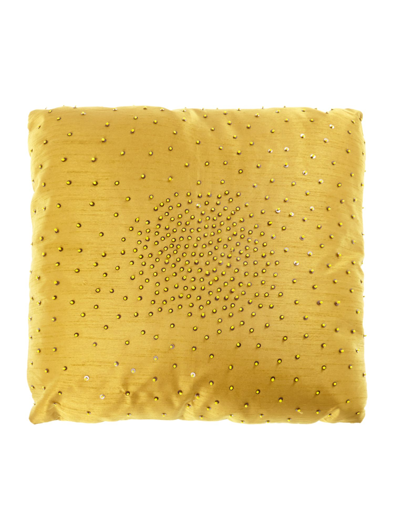 Zelda cushion in gold