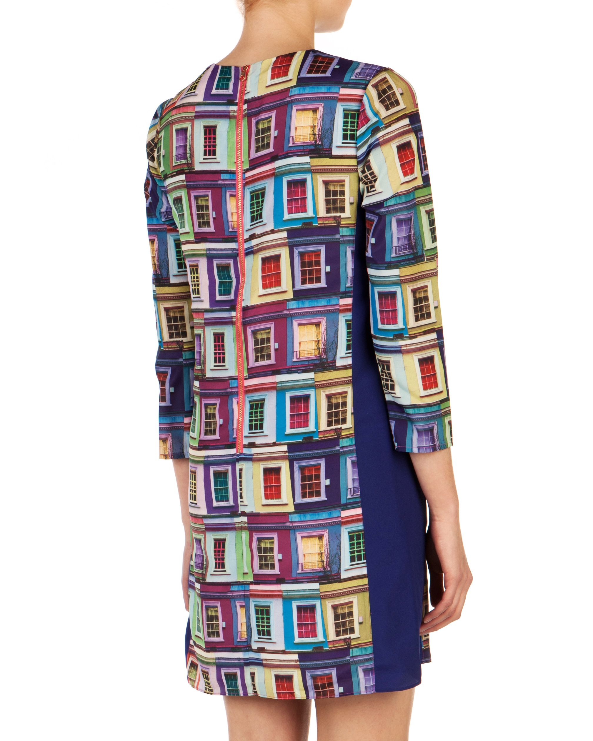 Jupi rainbow viewpoint dress