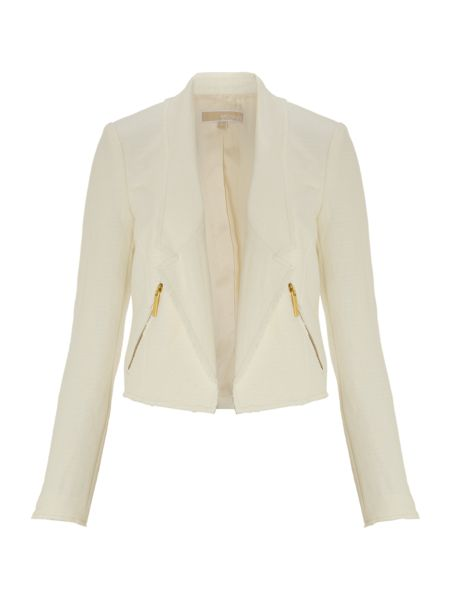 Michael Kors Cropped long sleeved jacket