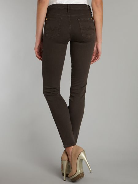 7 For All Mankind The Skinny jeans in Chestnut