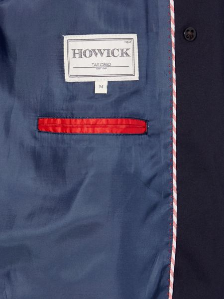 Howick Tailored Astaire Double Breasted Belted Mac