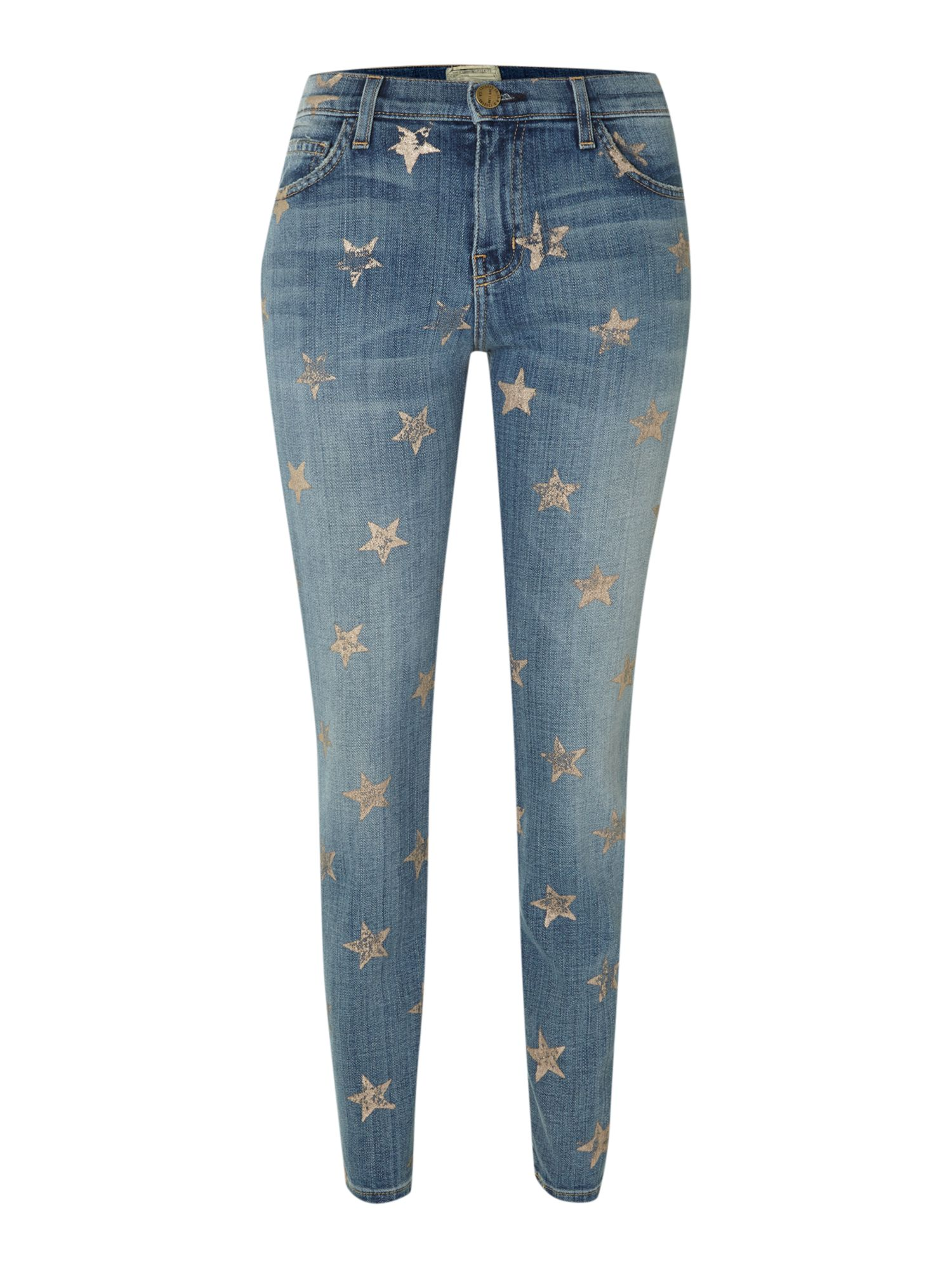 The Stiletto Skinny star jeans in Super Loved