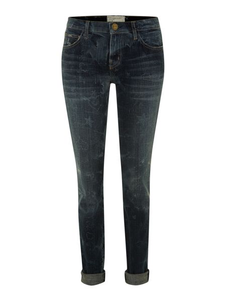 Current Elliott The Rolled Skinny jeans in Write On