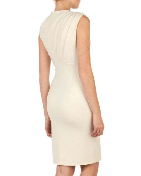 Ted Baker Bridie sculpted pleated dress