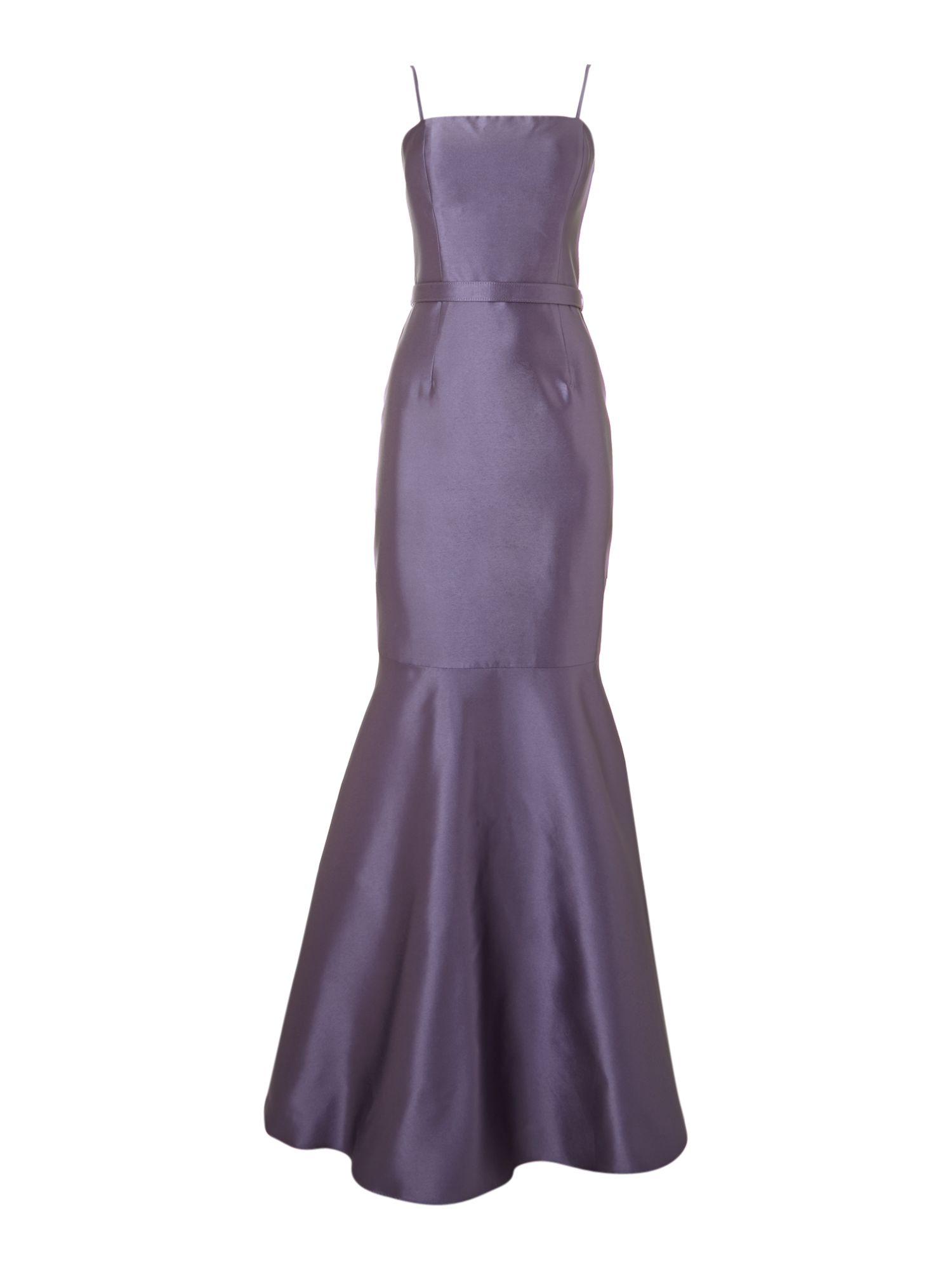 Eliza J Fishtail Maxi Dress, Lilac