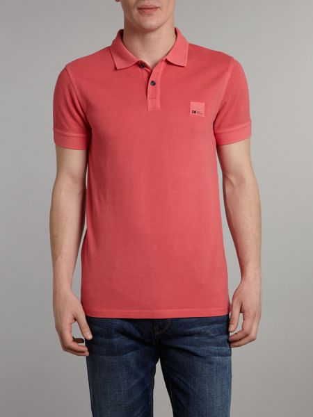 Hugo Boss Patch logo polo shirt