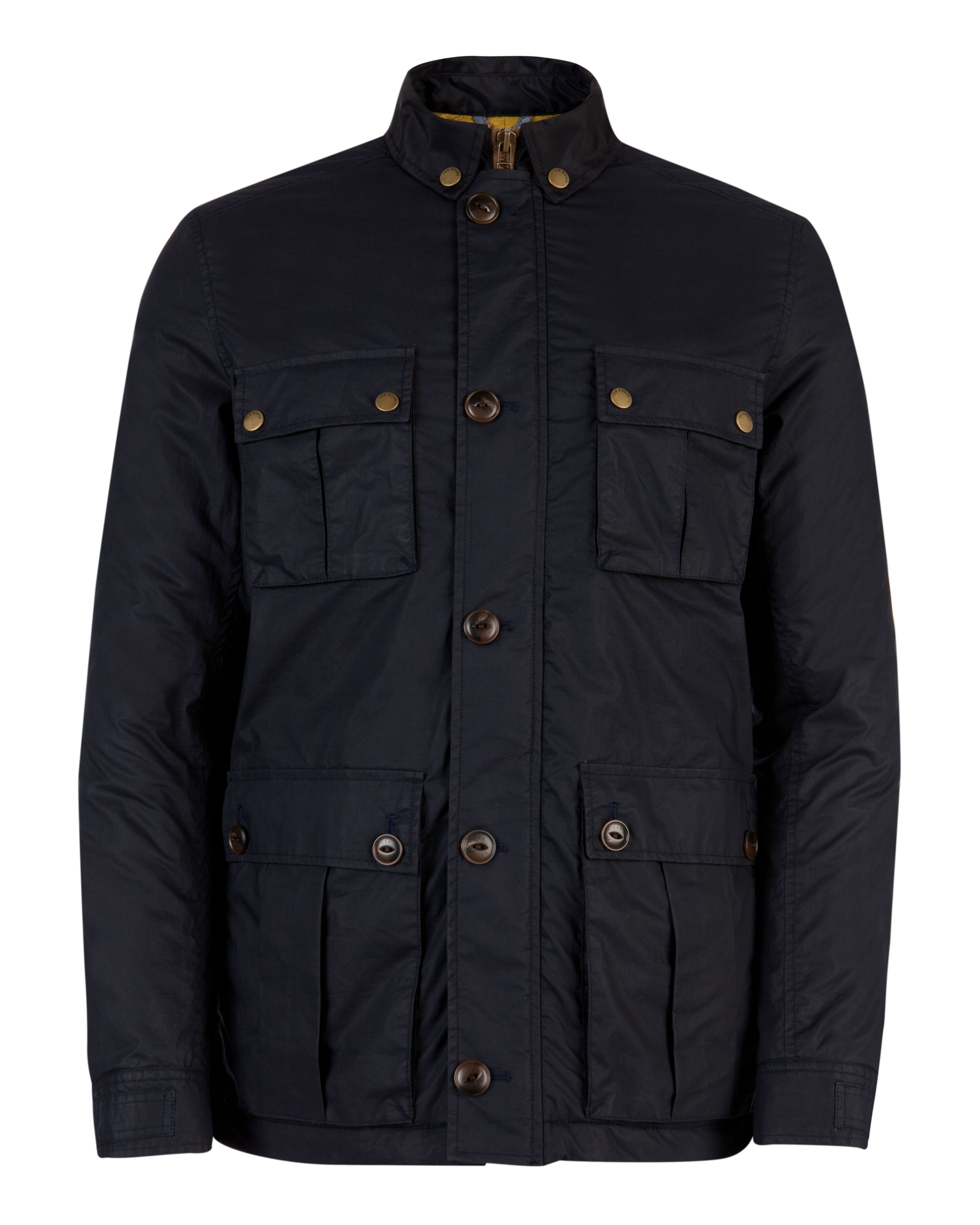 Lovgud wax zip through coat
