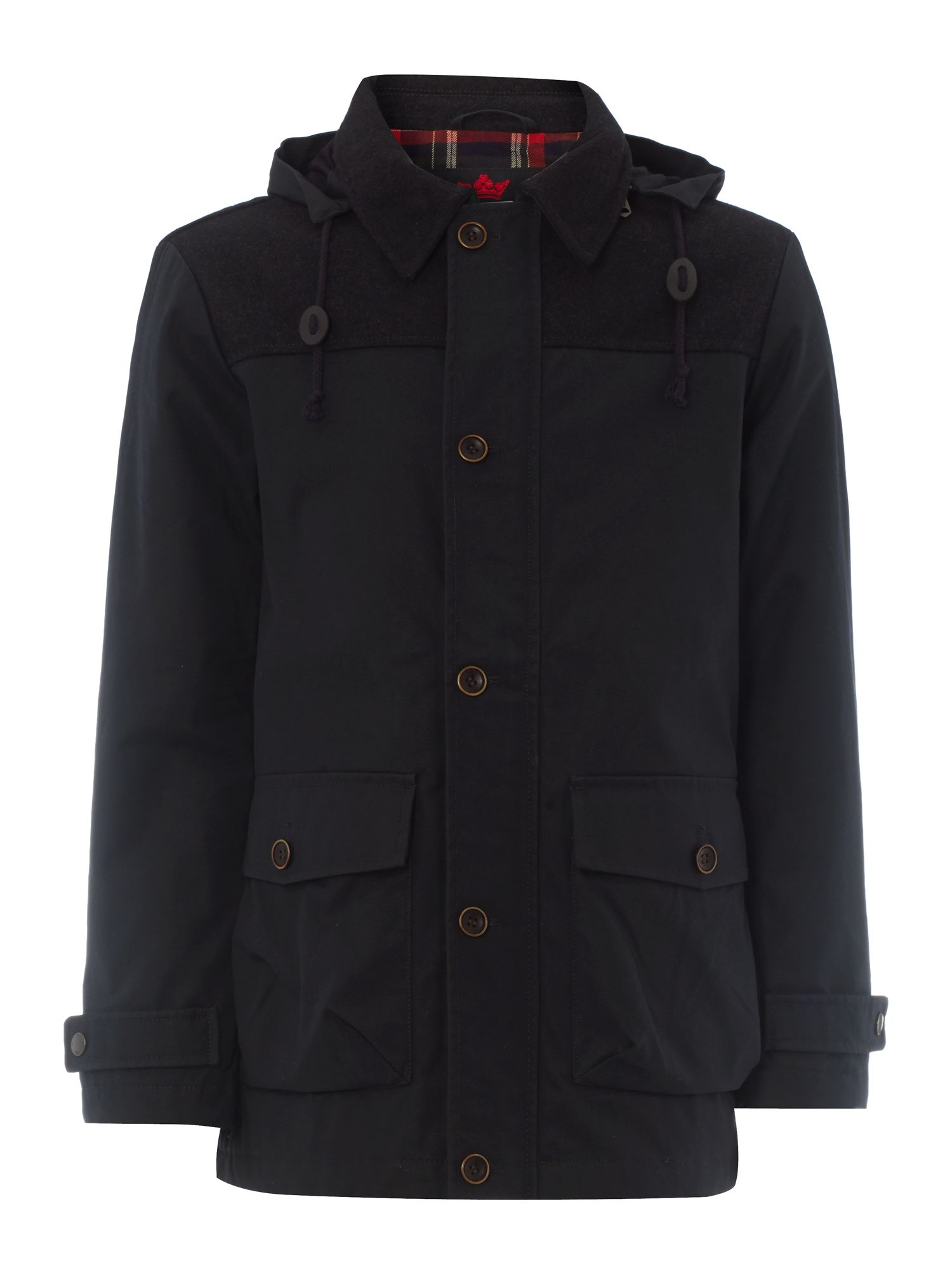 Shirebrook hooded jacket