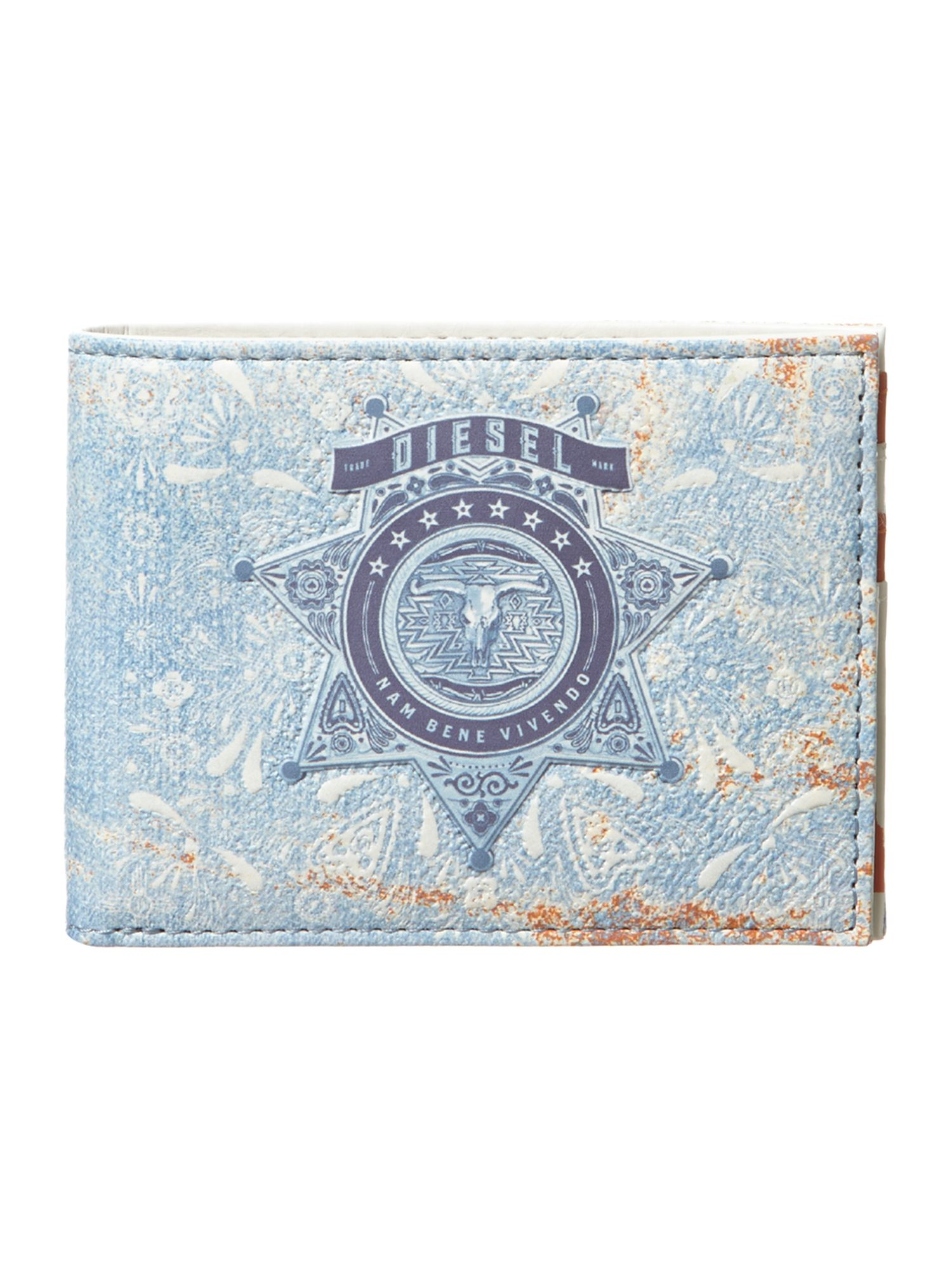 Sheriff badge print wallet