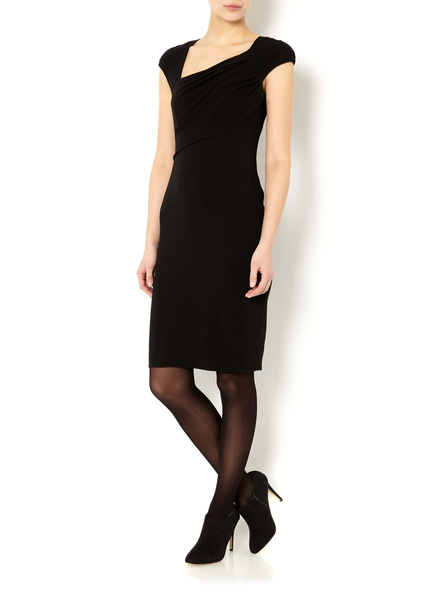 Erba cap sleeve dress