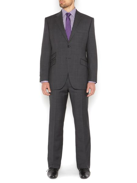 Howick Tailored Franklin Prince of Wales Check Suit Jacket