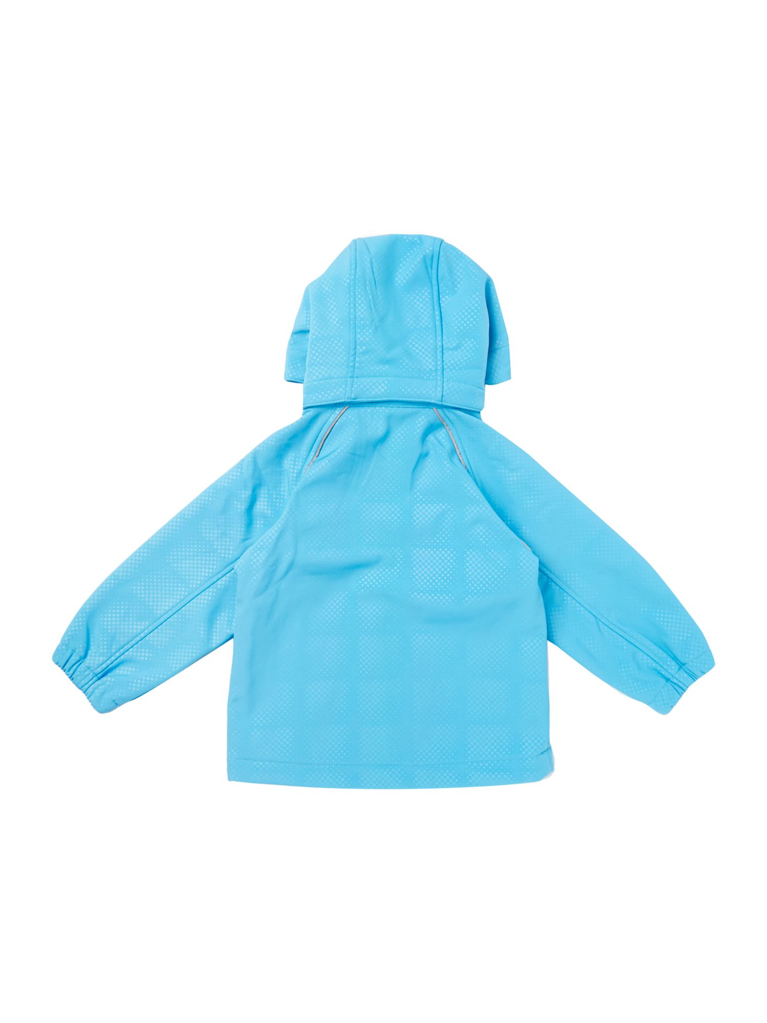 Boy`s soft shell jacket with removable hood