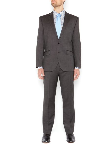 New & Lingwood Albert Birdseye Suit Jacket