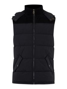 Shay detactable hood cord detailed gilet