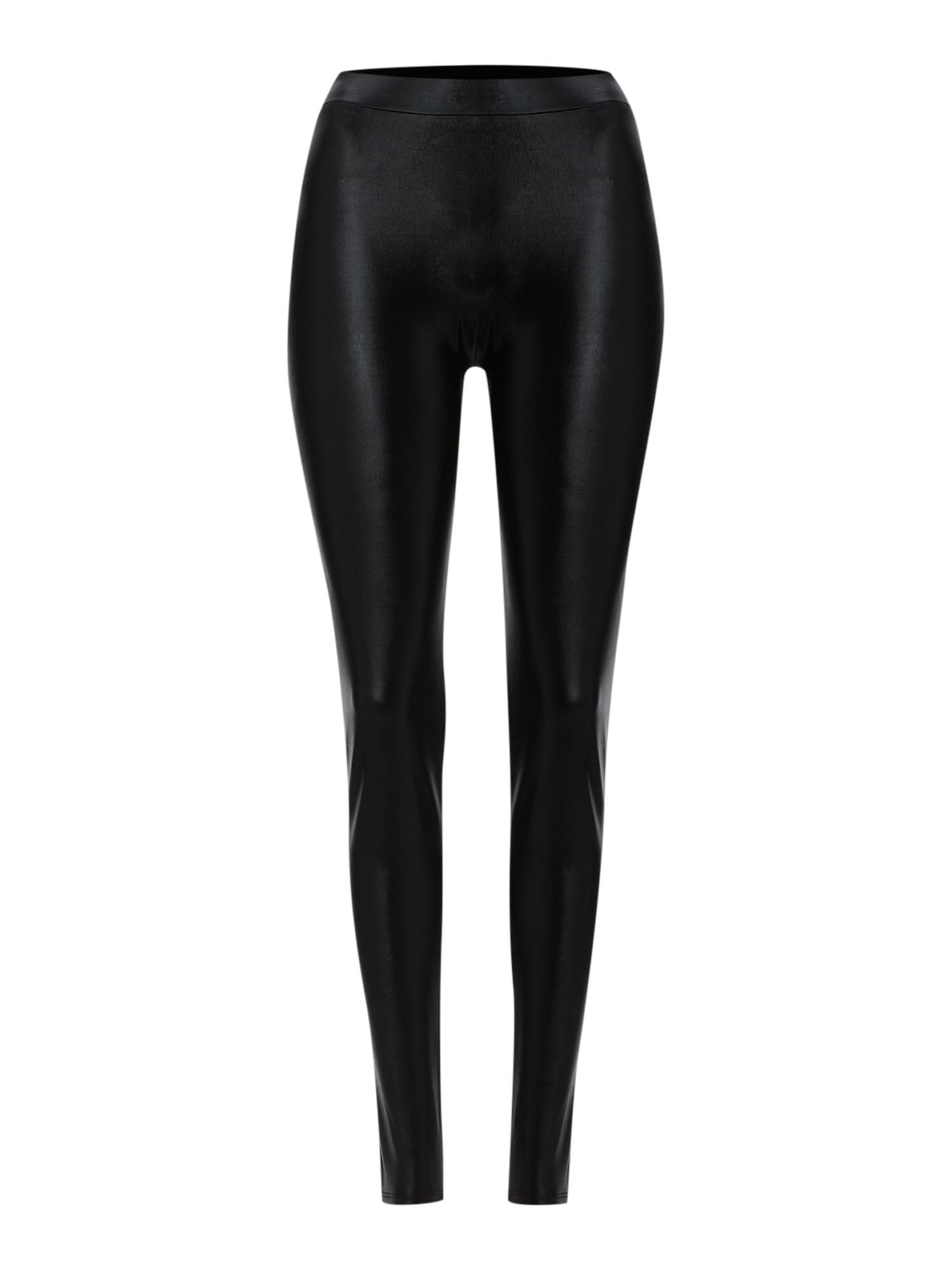 High shine wet look legging