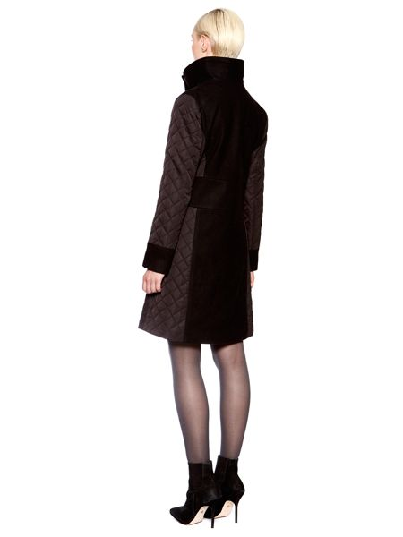 Pied a Terre Quilted puffer coat