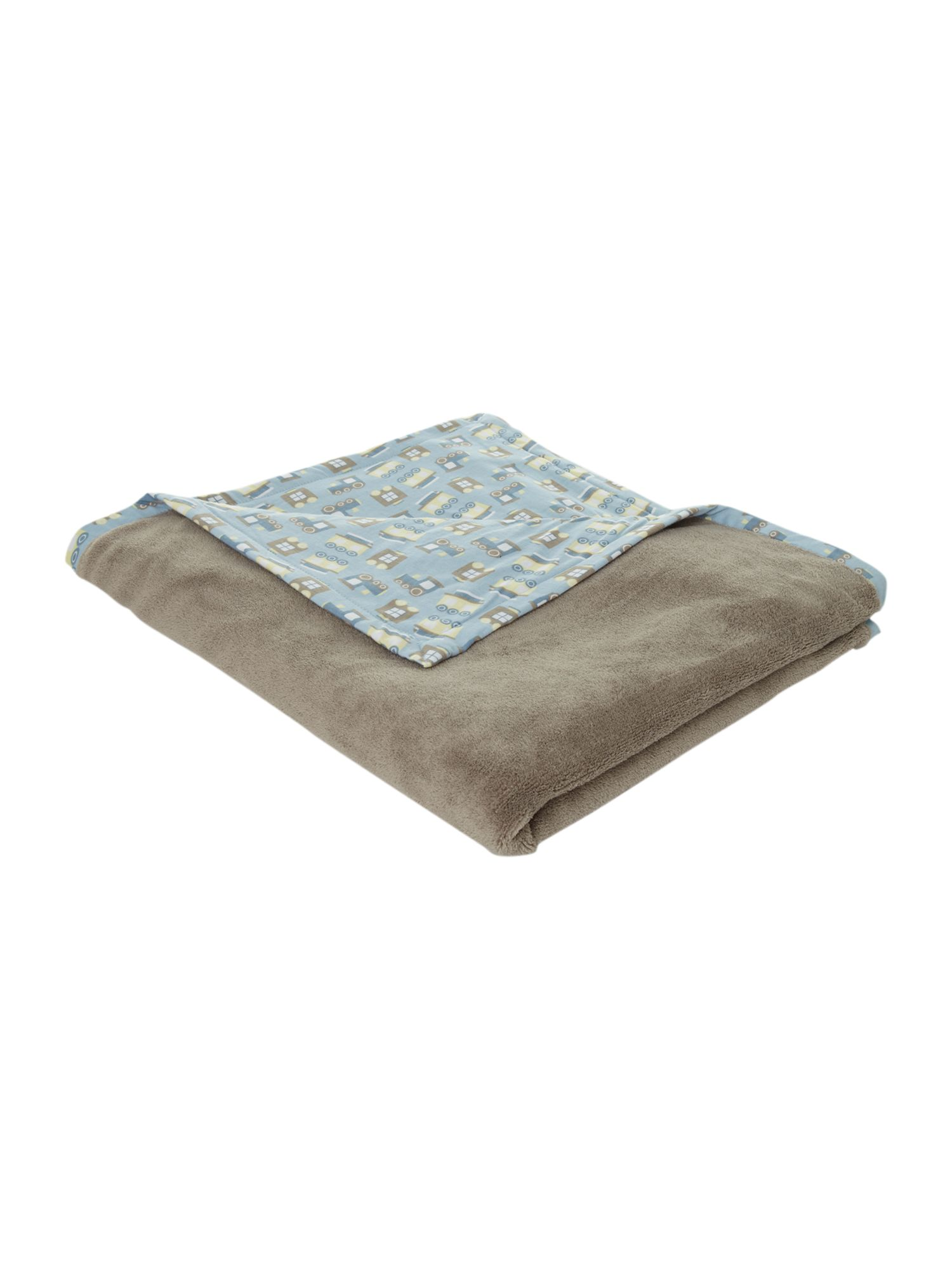 Boy`s printed blanket
