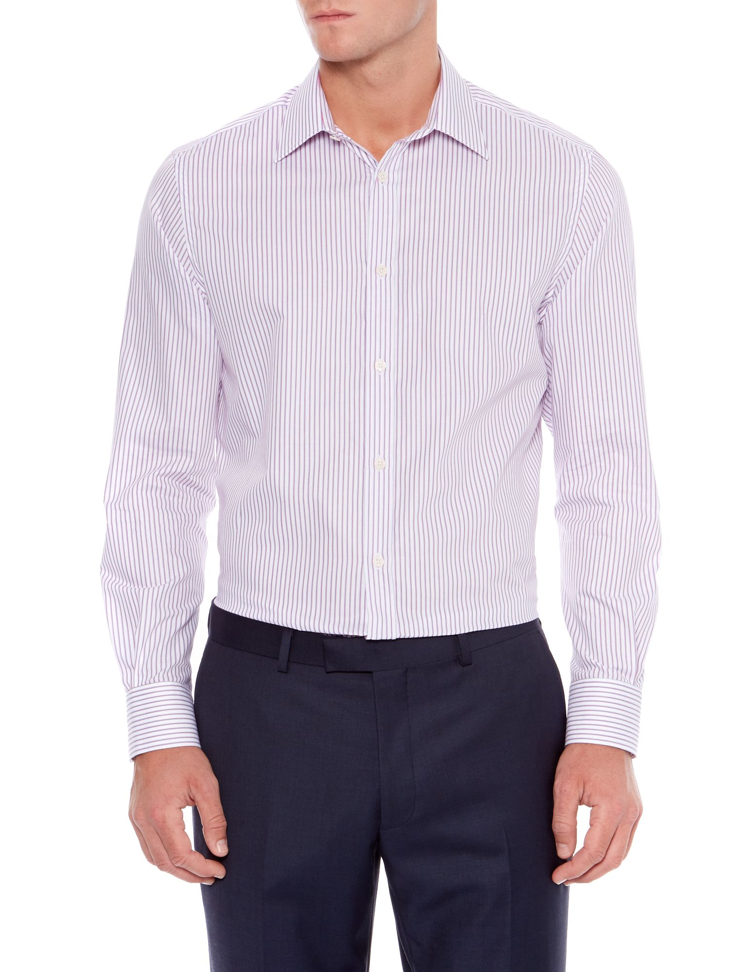 Chapel Thin Stripe Shirt