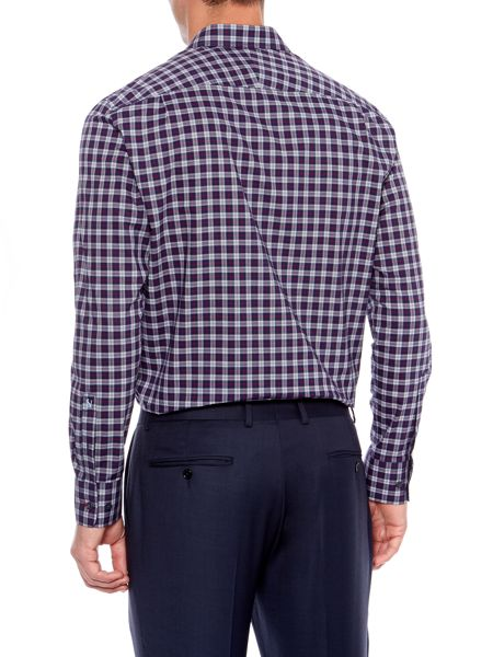 New & Lingwood Tilestone Tartan Check Shirt