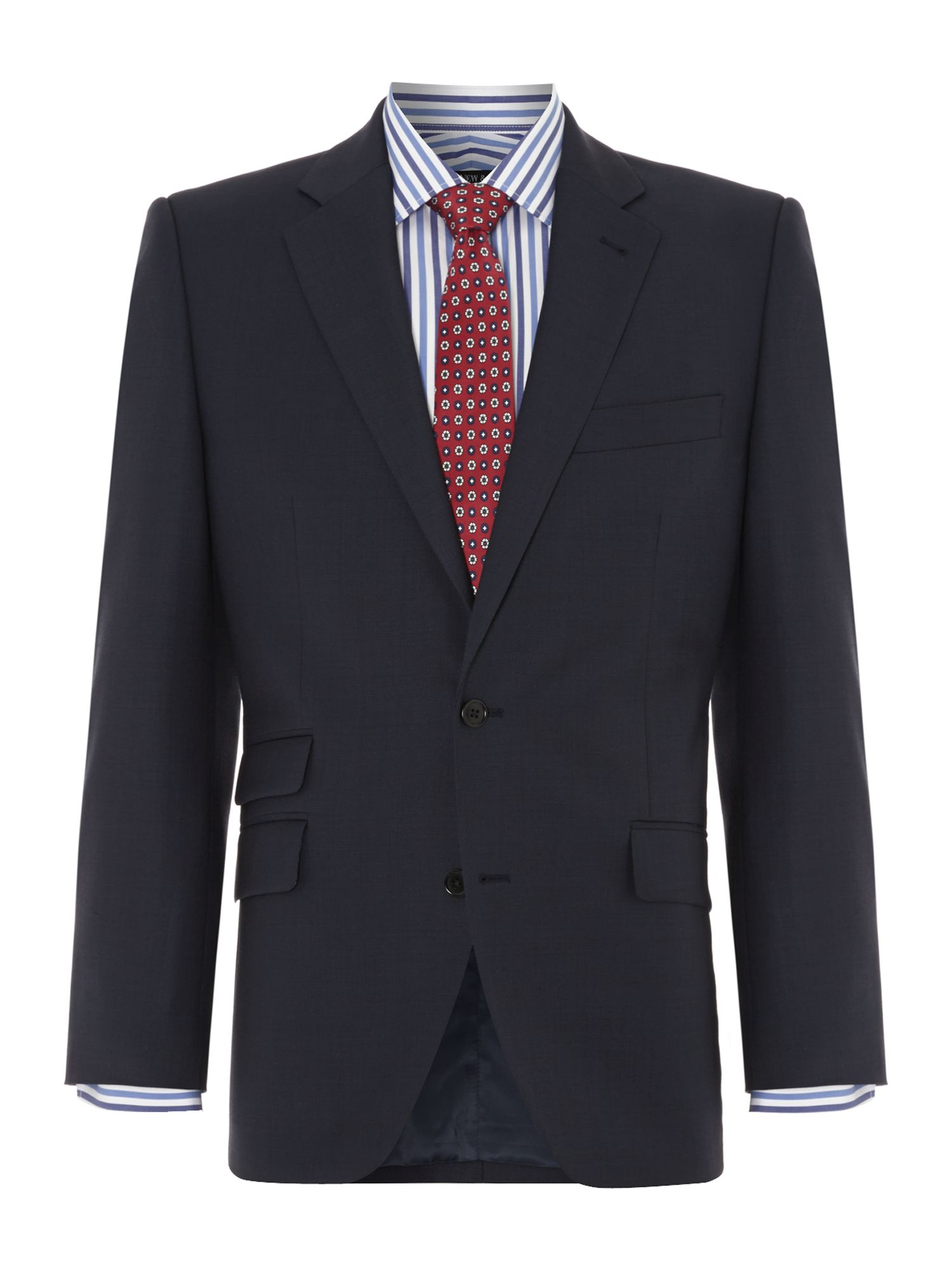 Bexley Sharkskin Ticket Pocket Suit Jacket