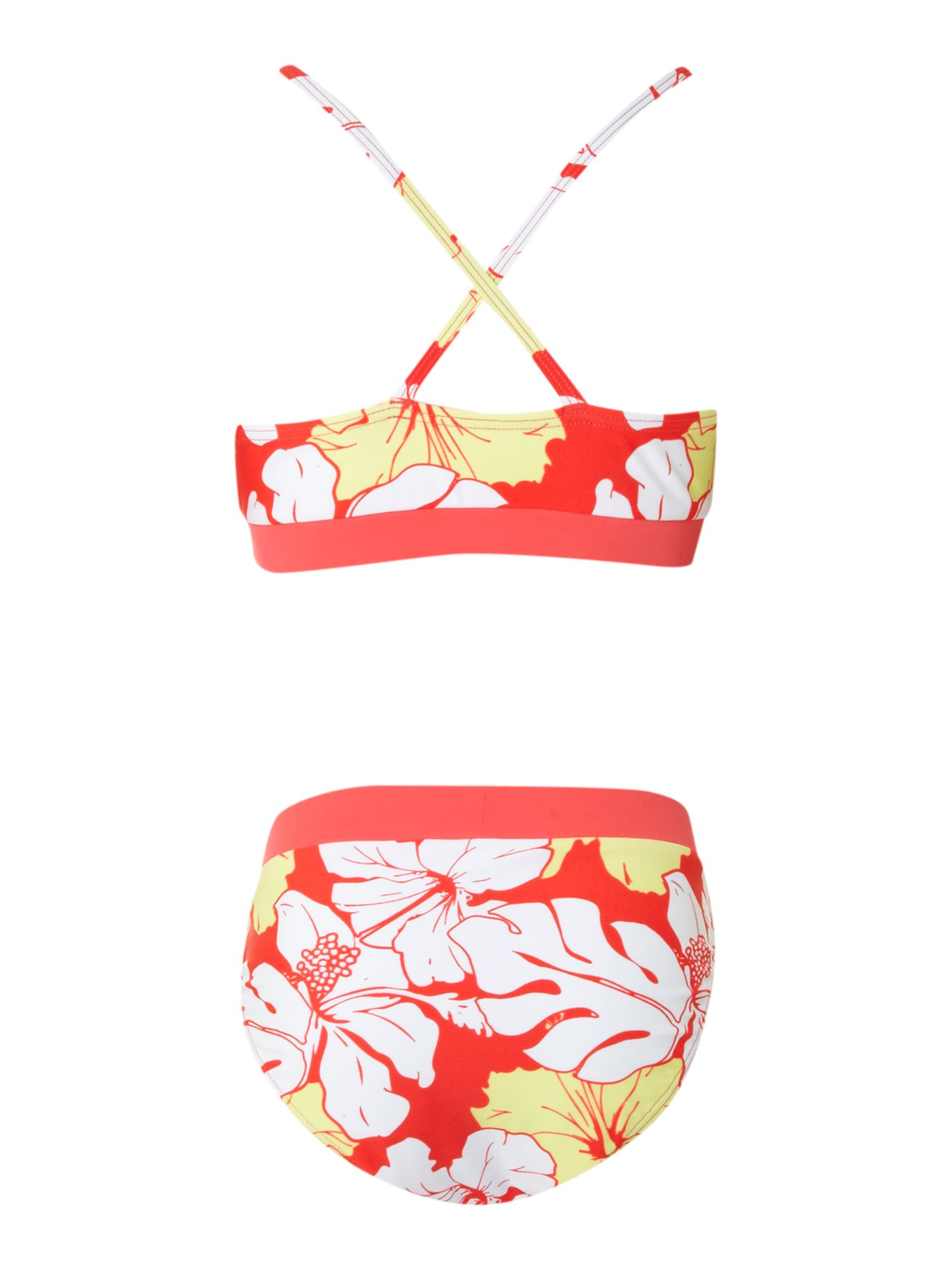 Girl`s plumb swim set