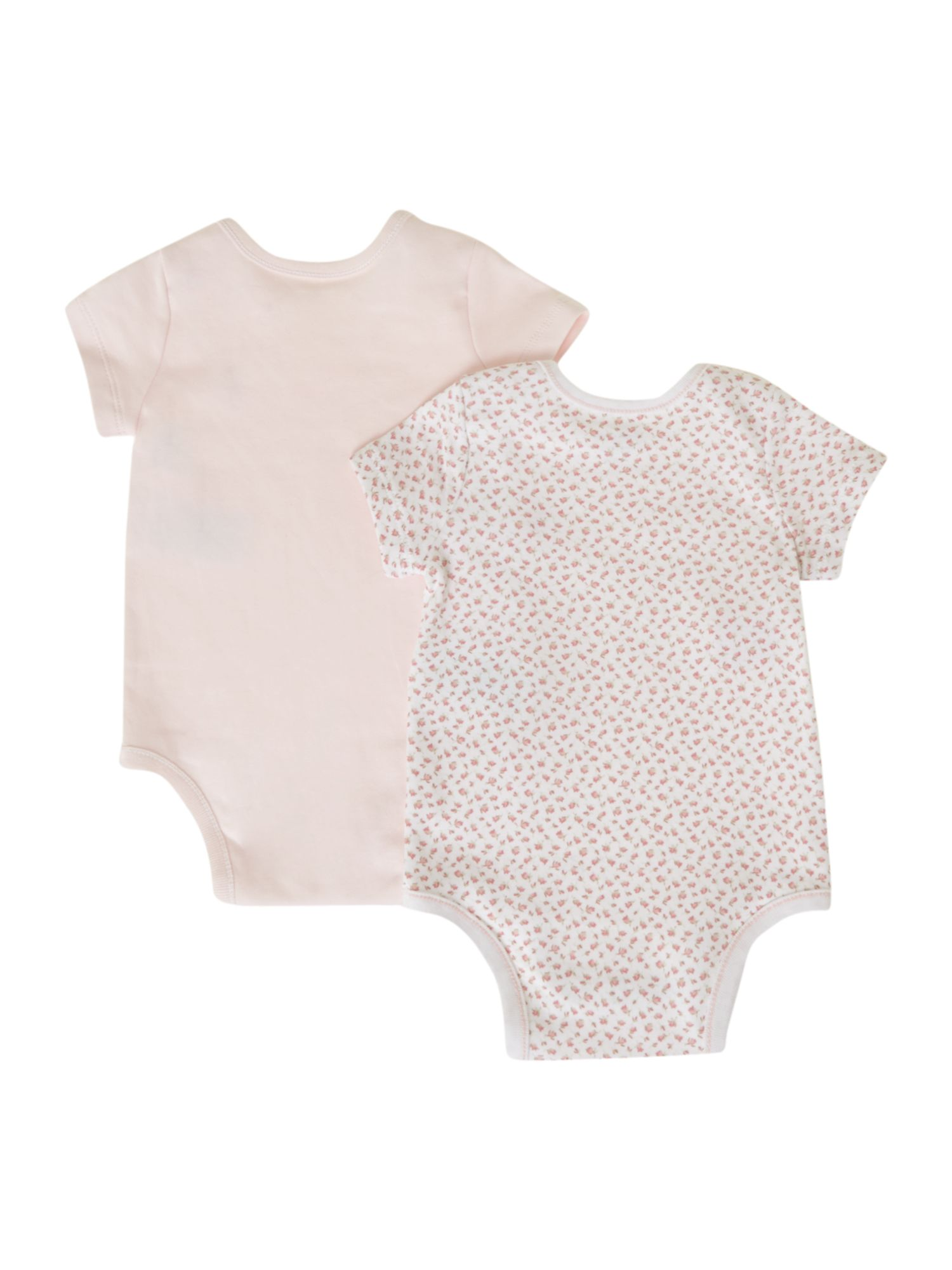 Girl`s pack of 2 printed bodysuits