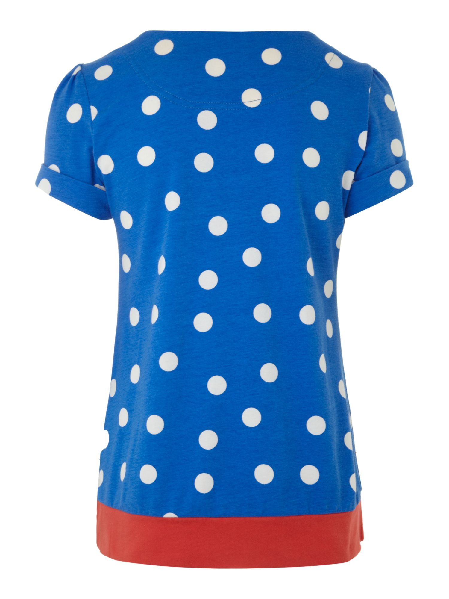 Girl`s spotted Elysia tunic top