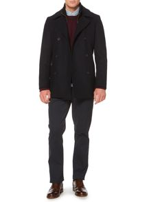 Camargue double breasted wool coat