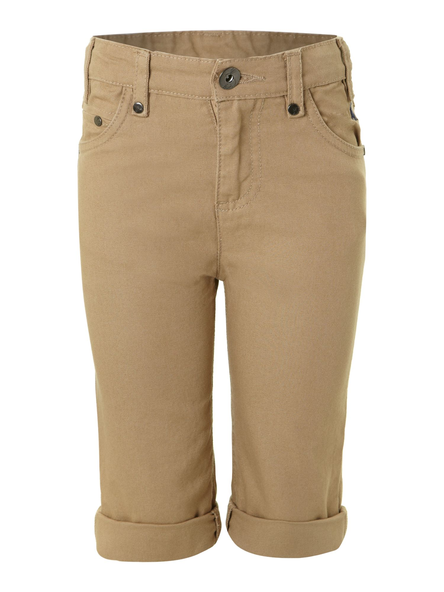 Boy`s roll up chino shorts