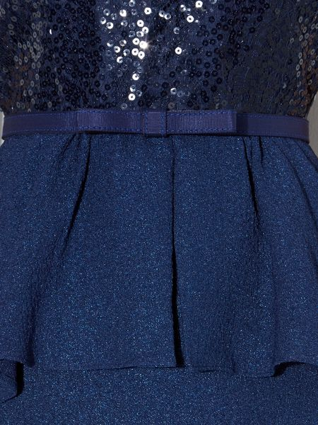 Untold Sequin detailed peplum dress