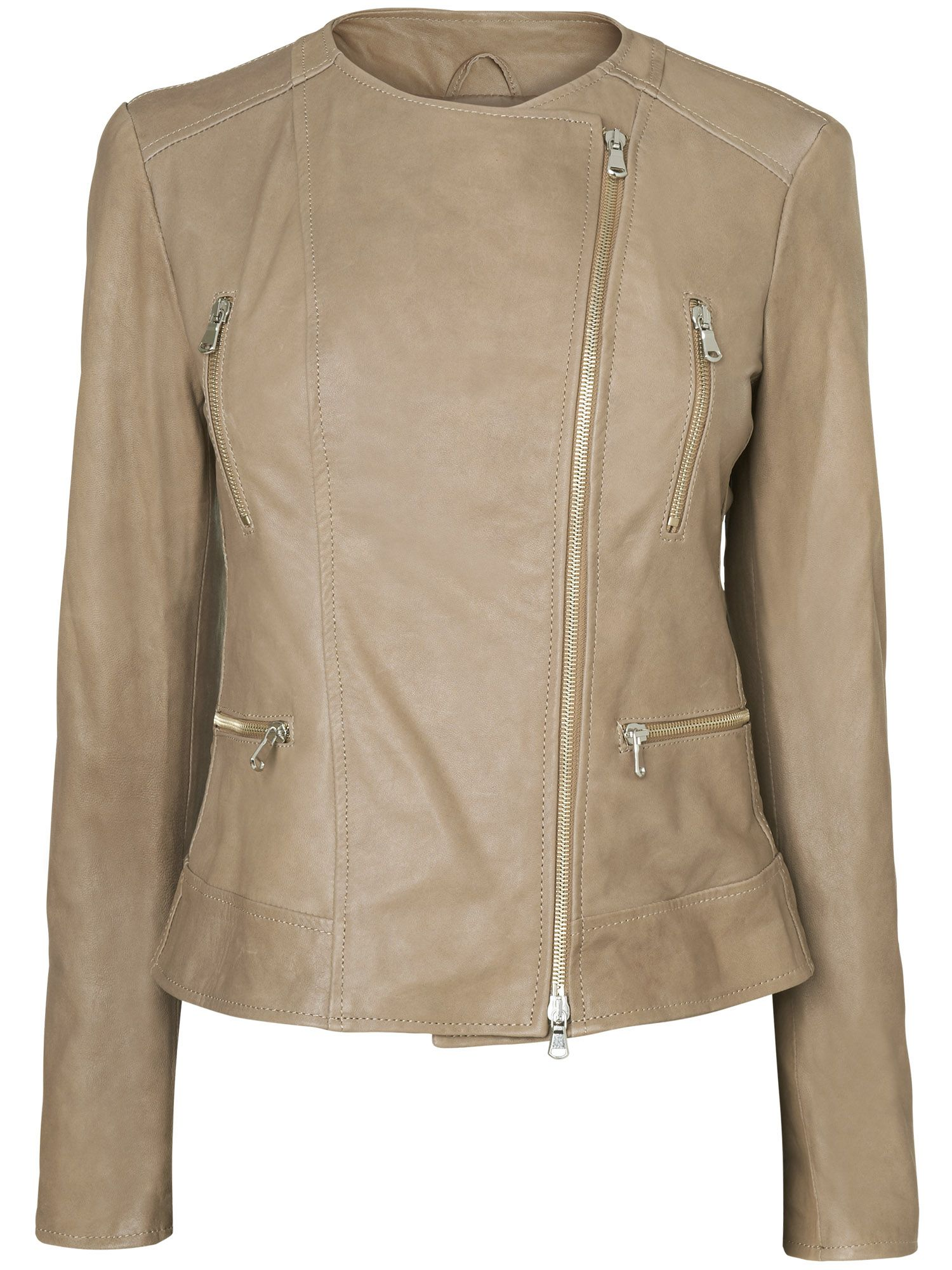 Simona leather jacket