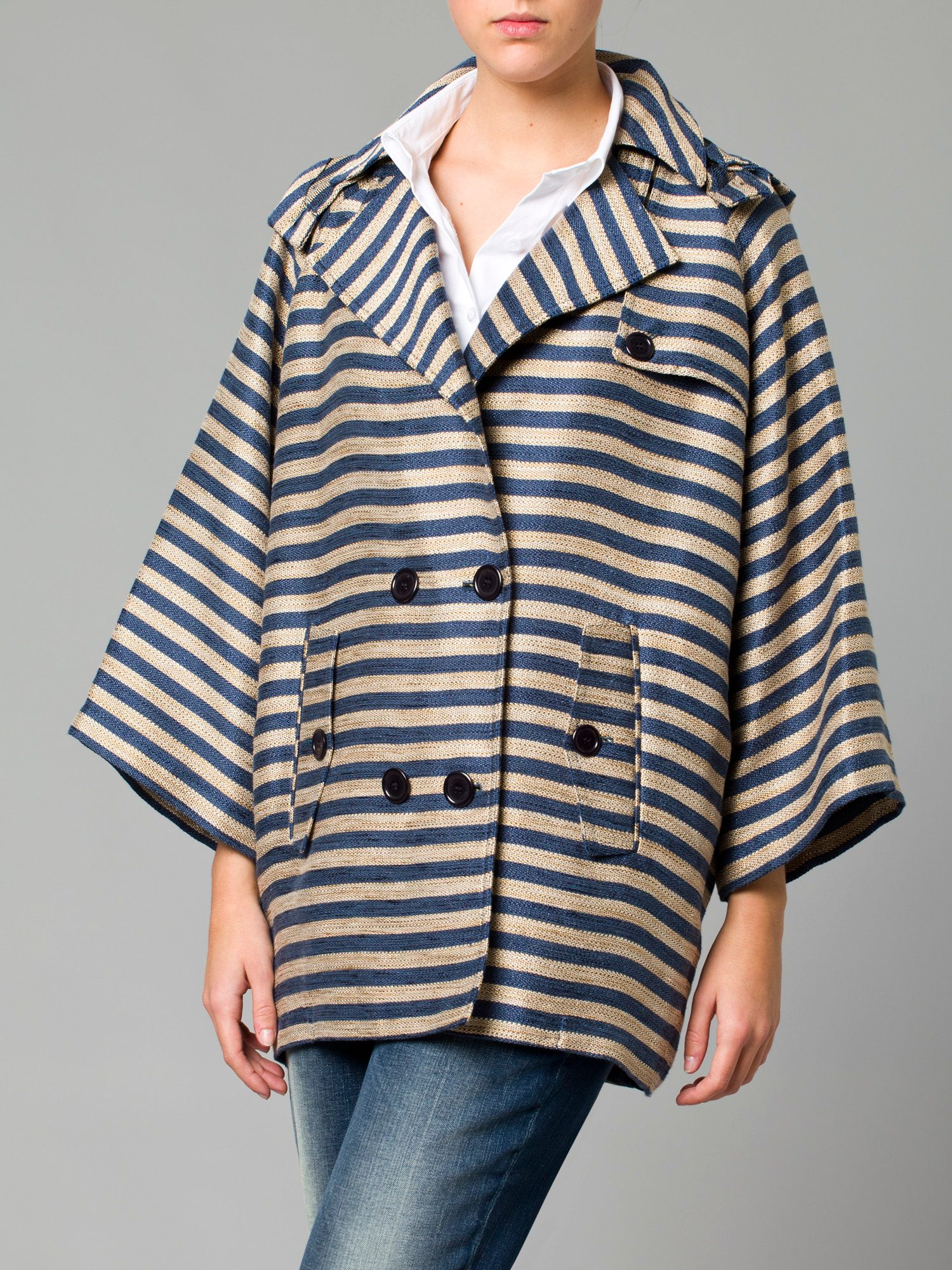 Stripped parka