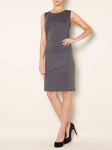 The Department Ponte shift dress