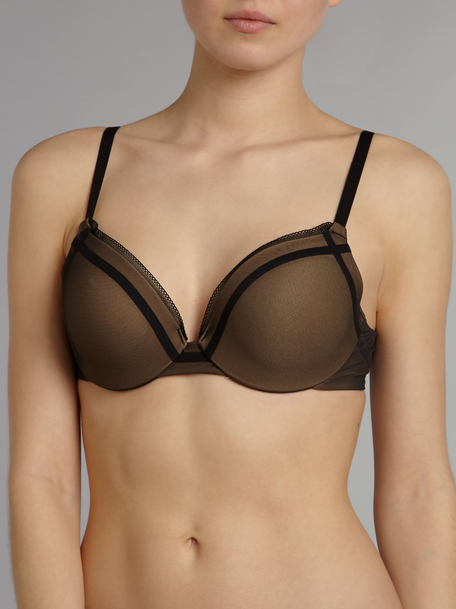 Enthralled custom lift cross bra