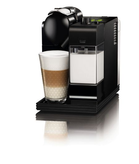 Delonghi Nespresso Lattissima Coffee Machine in black