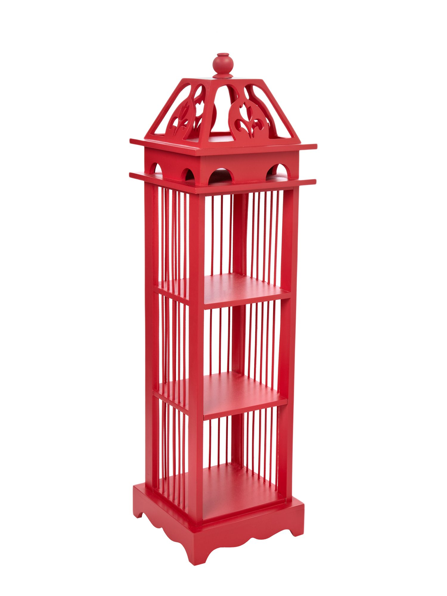 Birdcage storage unit