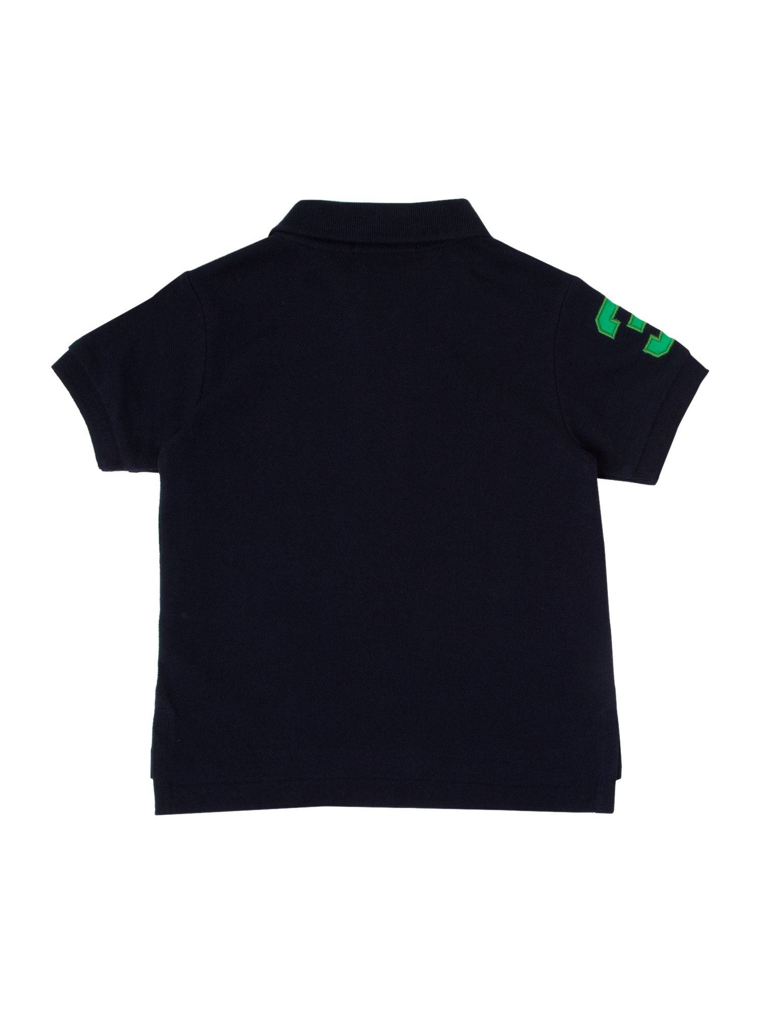 Boy`s USA logo polo shirt
