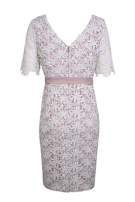 Floral lace shift drs