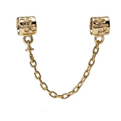Floral safety chain - 6cm