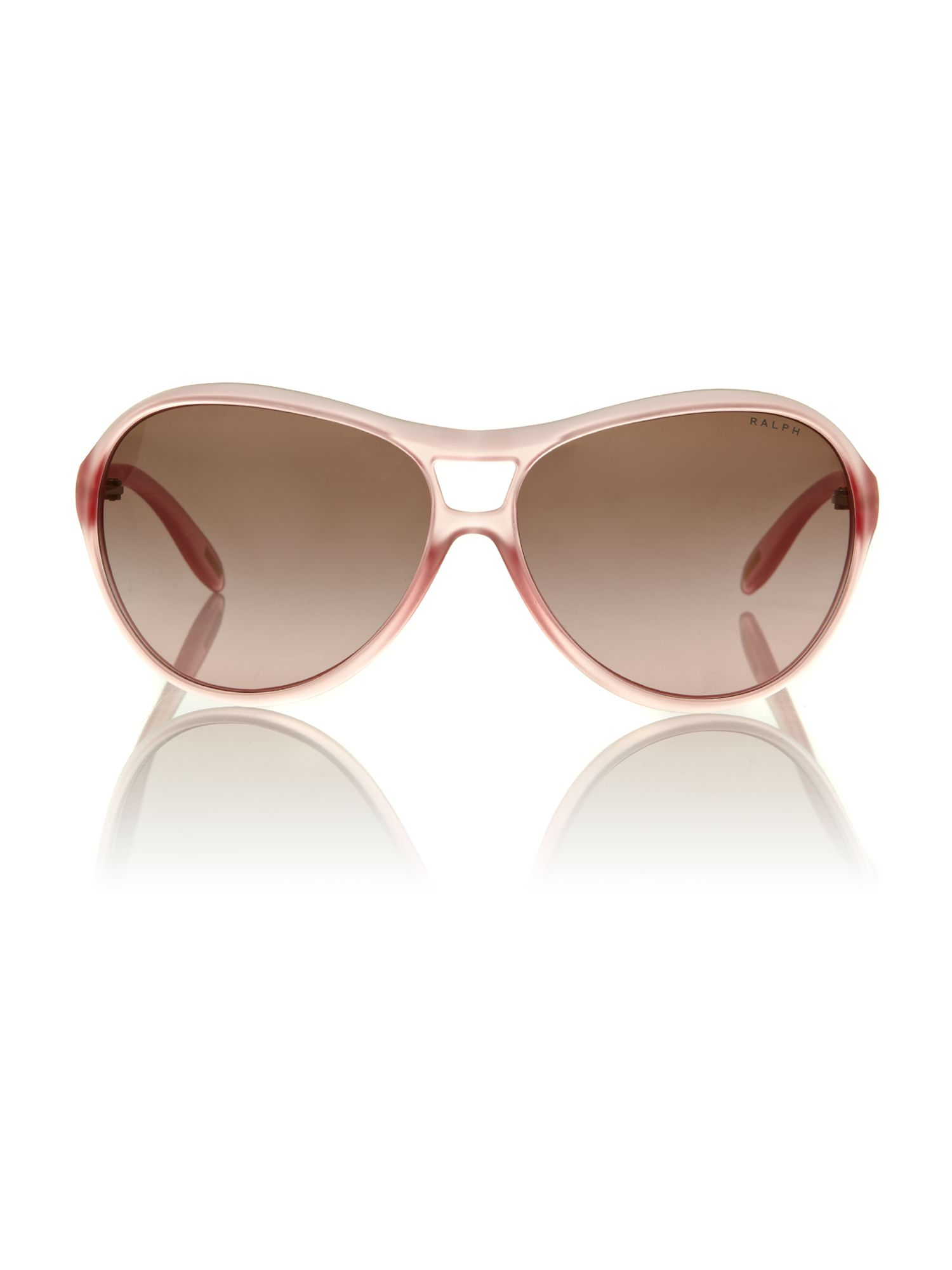 Ladies RA5151 matte pink aviator sunglasses