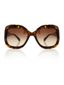 Ladies 8097 dark havana sunglasses