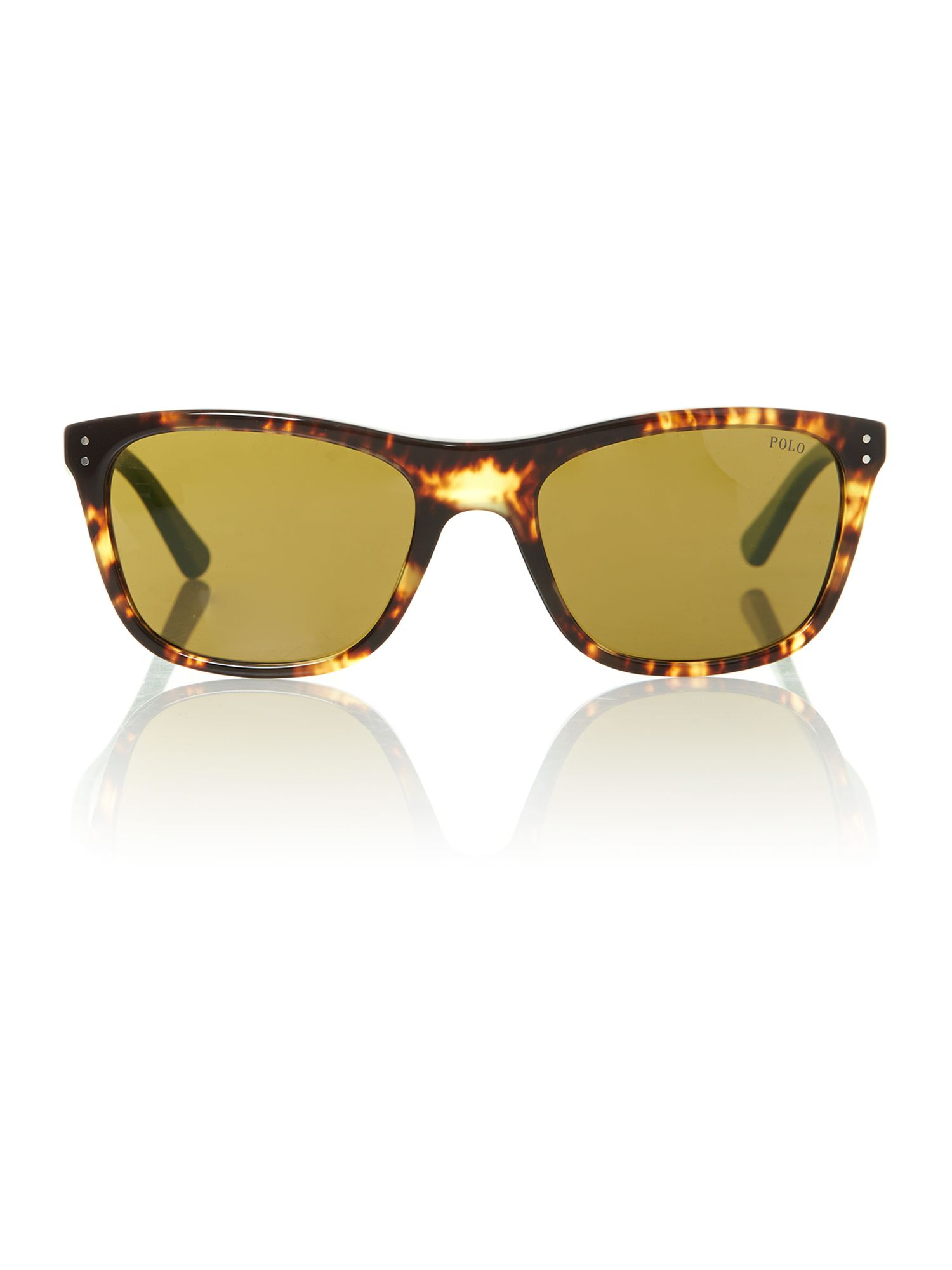 Men`s PH4071 tortoise aviator sunglasses