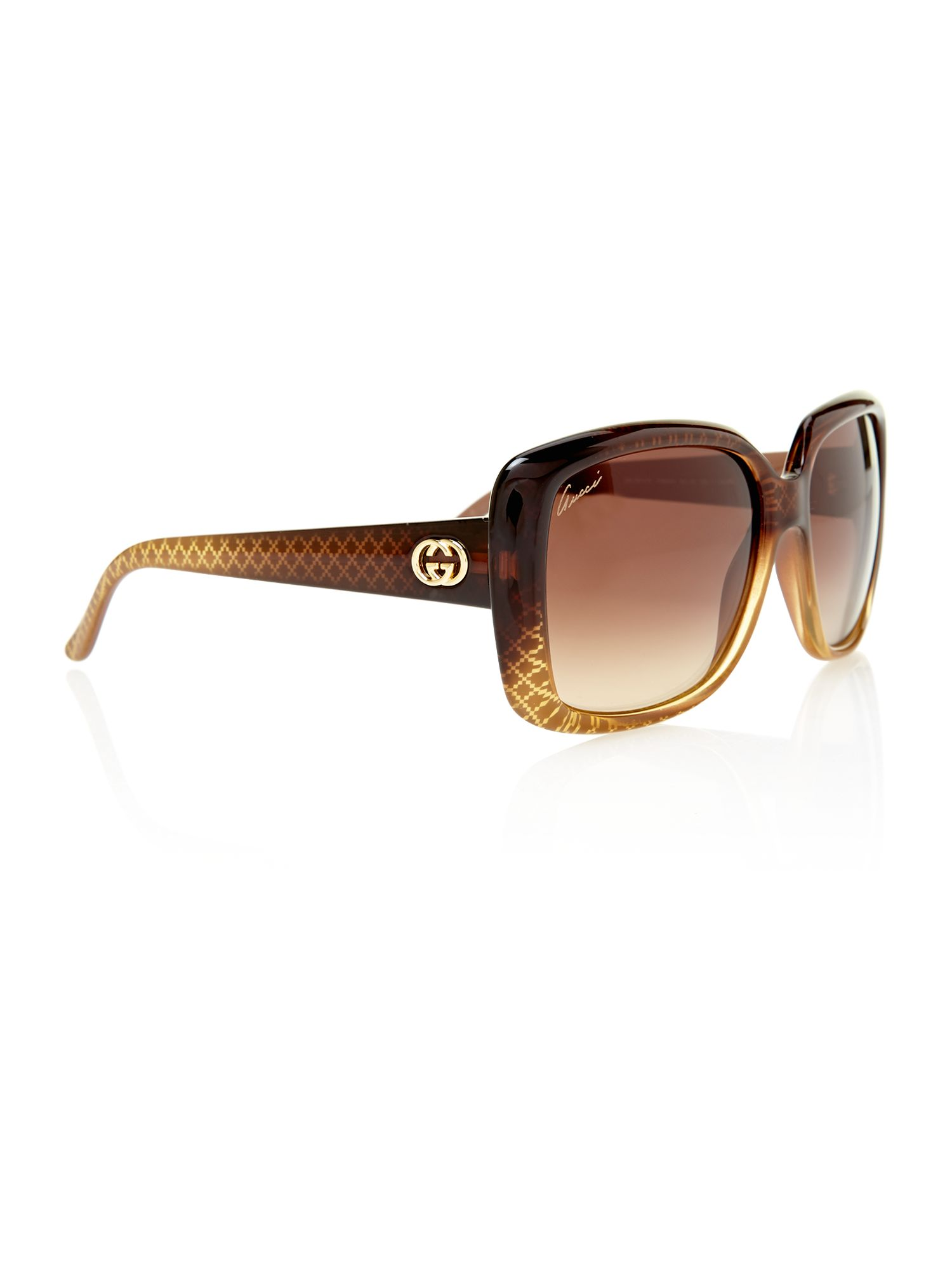 Ladies GG3574/S square sunglasses