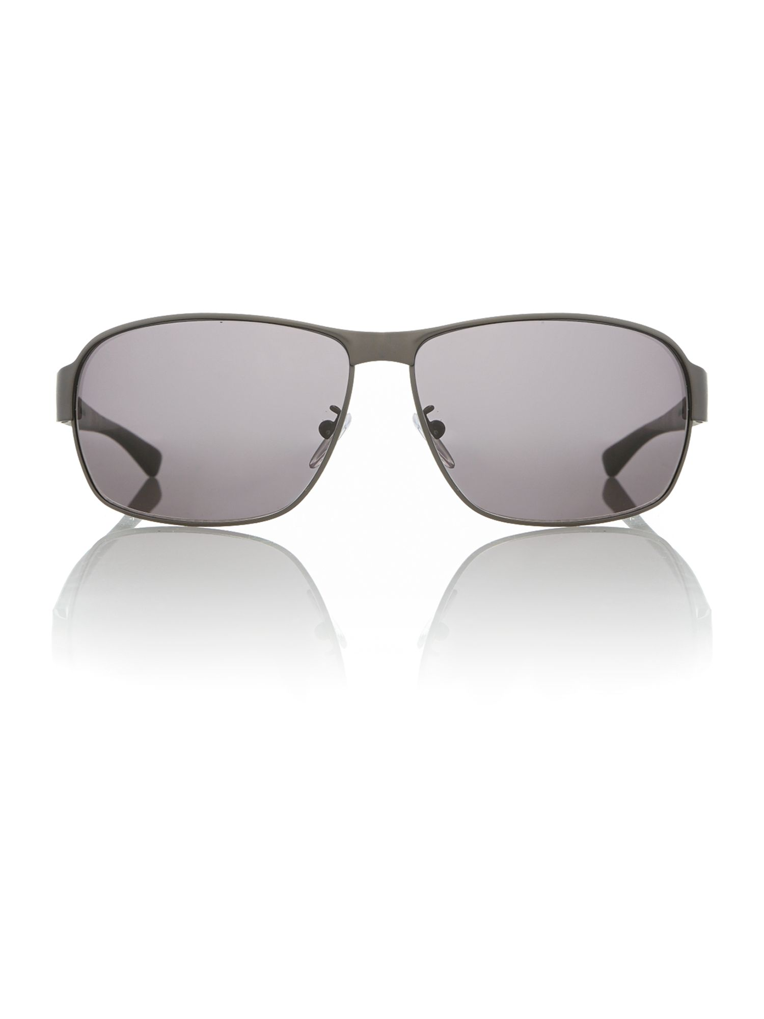 Unisex S8743 browm rectangle sunglasses