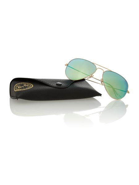 Ray-Ban Unisex RB3025 iconic aviator sunglasses
