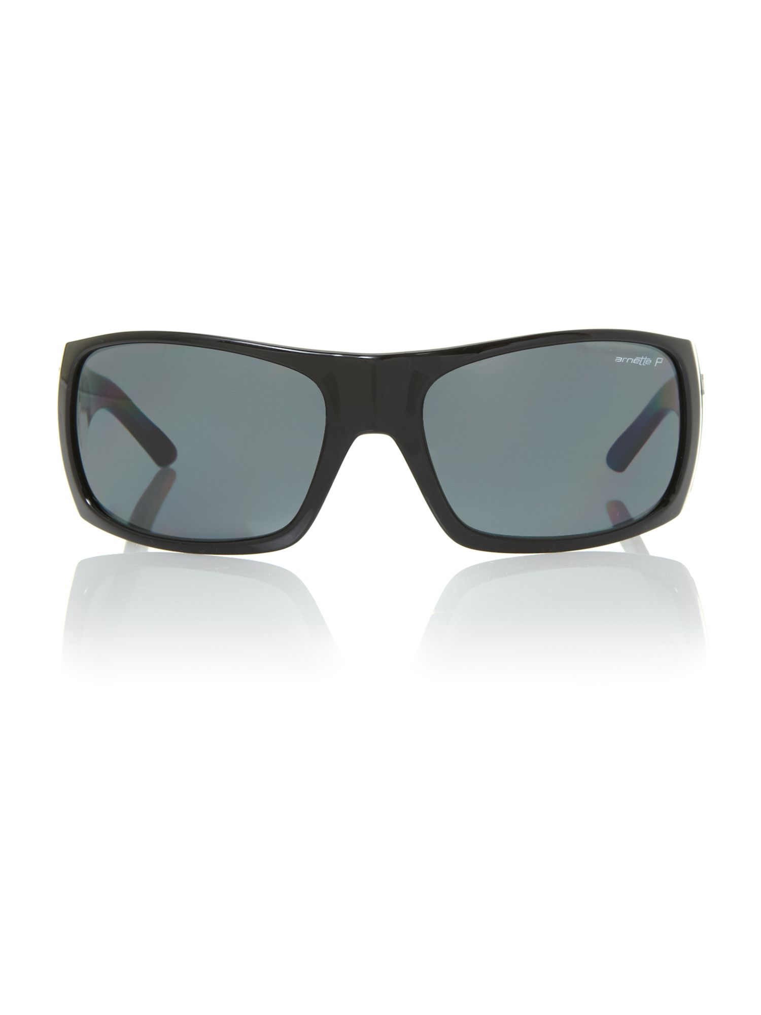 Men`s AN4183 black rectangular sunglasses