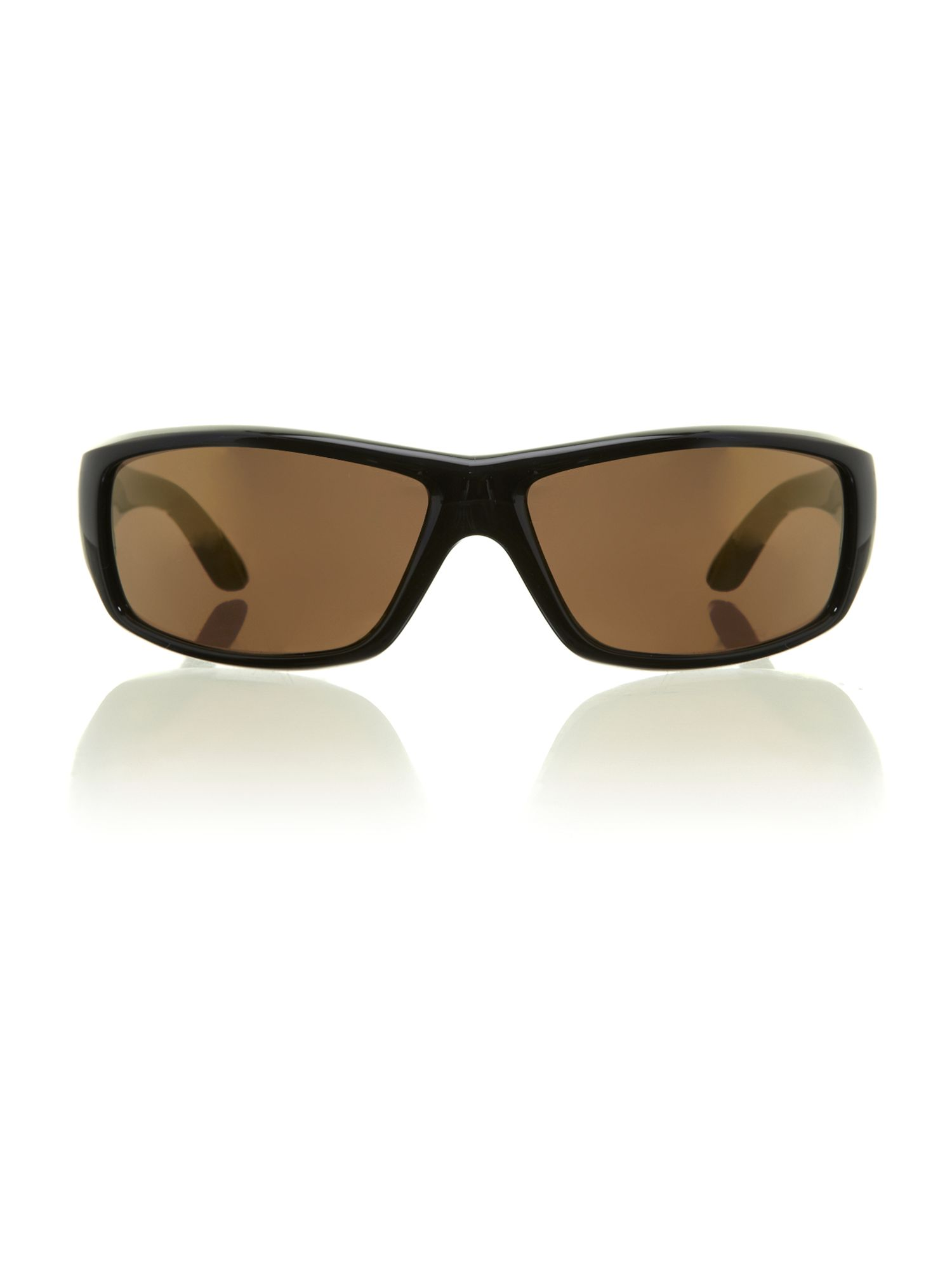 Men`s AN4154 black rectangular sunglasses