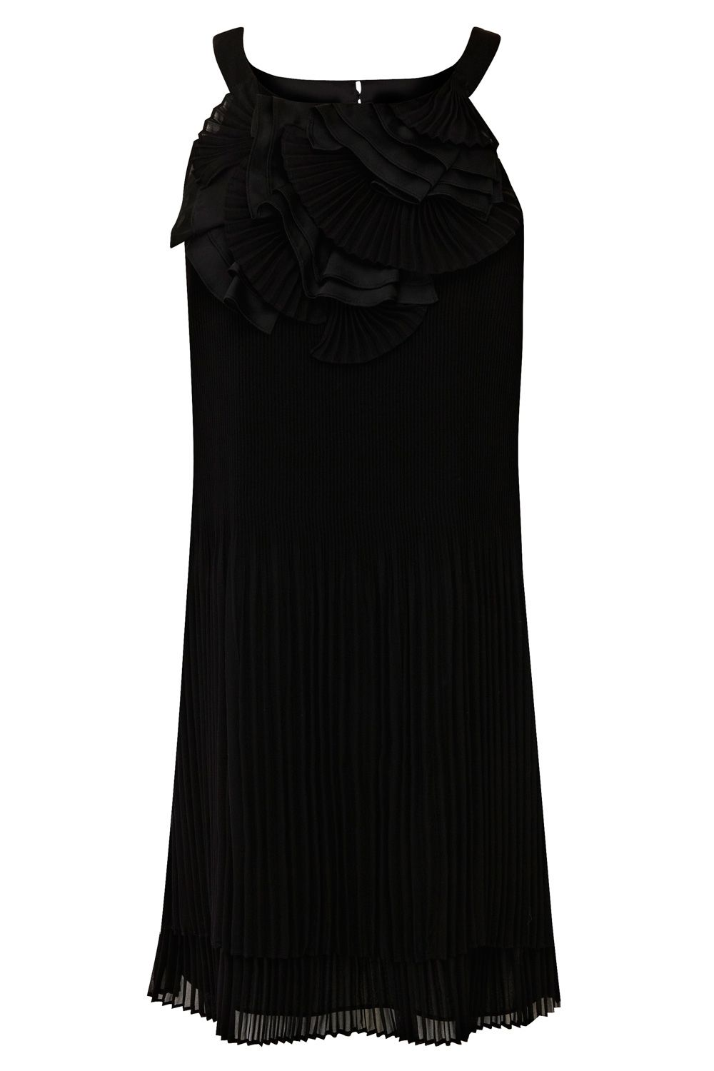 Lomasi pleat dress